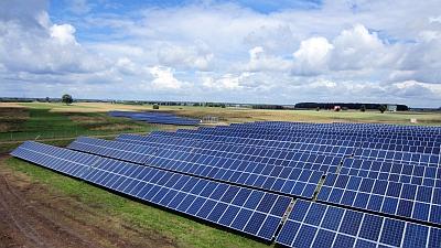 Saules elektrines Lietuvoje